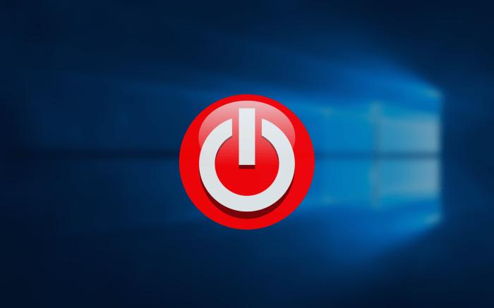 windows 배경 화면 과 전원 아이콘